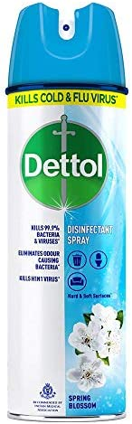 Dettol Multi-Purpose Disinfectant Spray For Hard & Soft Surfaces, Spring Blossom- 1