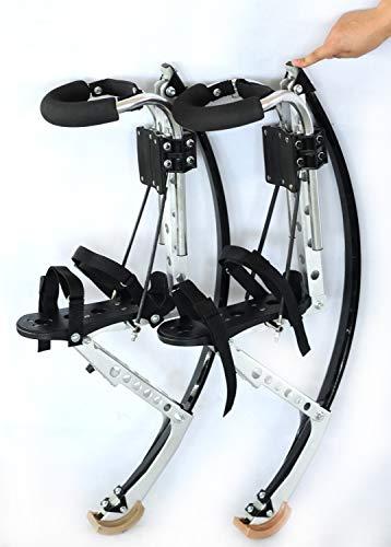 GxYue Calzature da Salto per Adulti Canguro Scarpe da Salto Fitness Scarpe rimbalzanti per Esercizi Fitness - Stivali da Corsa Anti-gravità per Uomo e Donna Saltare (Size : Adults70~90KG)