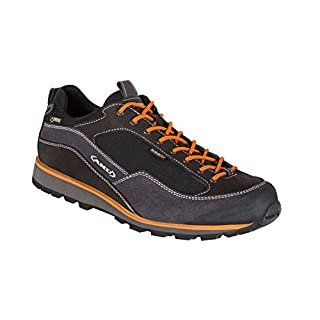 AKU hiking shoes Gentlemen 654-108Gore-Tex Outdoor Nuvola GTX Black/Orange, black / orange