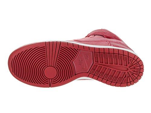 Nike 313171-661, espadrilles de basket-ball homme Rouge