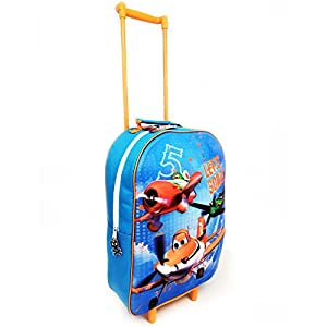 Disney Character Planes 3d Kids Trolley School Cabin Wheeled Luggage Travel Bag from Mick