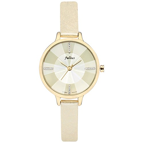 JULIUS Lady Woman Wrist Watch Quartz Hours Best