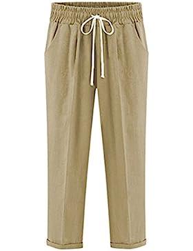 Hibote Pantalones Mujer 100% Alg
