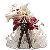 YCHBOS Statue d'anime Natsume Yuujinchou Natsume et modèle d'animateur de Professeur de Chat tacheté, Jouet de décoration de Bureau à Domicile - 18CM Statue de Jouet...