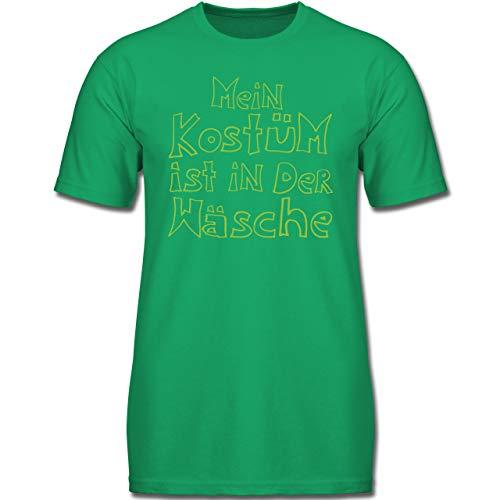 Kinder - Mein Kostüm ist in der Wäsche - 152 (12-13 Jahre) - Grün - F130K - Jungen Kinder T-Shirt ()