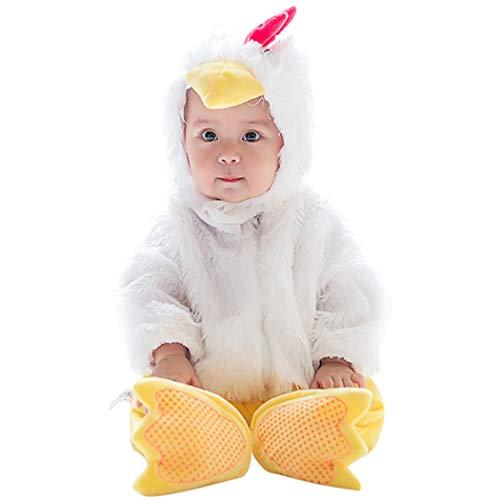 (Tsingbei Baby Kleinkinder Animal Kostüm Halloween Party Jumpsuit Winter Strampler Bekleidung)