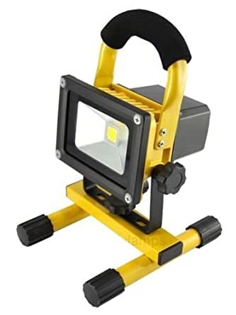 10w Portable Led Work Light Cordless Rechargeable Ip65 12v