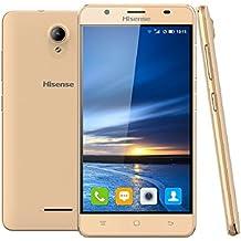 TELEFONO HISENSE HS-U989GD PRO P5.5 QC 1GB 16GB 13MP A6 DORADO