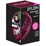 Dylon Machine Colorant 350g Rouge Burlesque, Sel Inclus! Remise en vrac Disponible (1)