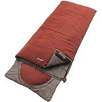 Outwell Contour Saco de Dormir, Color Ochre Red, tamaño 225 x 90 cm,