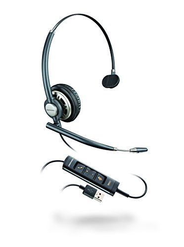 Plantronics HW715 USB, EncorePro Single Ear Headset with Clip Superior-digital-headset