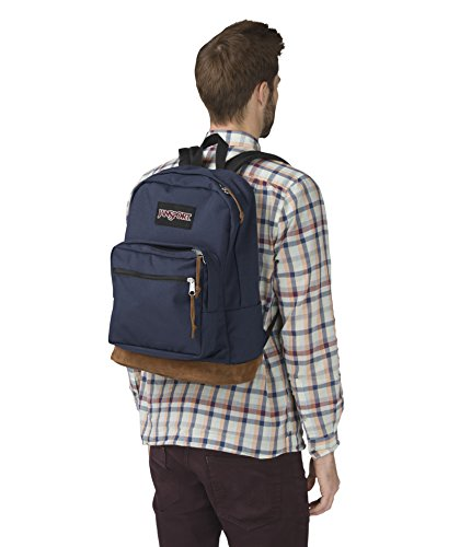 JanSport Right Pack Laptop Backpack (Navy) Image 4