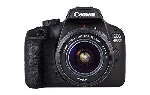 #Canon Eos 4000D 18-55/3.5-5.6 EF-S III DSLR Kamera#