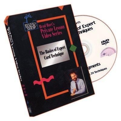 Basics Of Expert Card Techniques Vol.1 by Brad Burt - DVD by Brad Burts Magic Shop