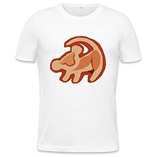 Simba The Lion King Logo Mens T-shirt Medium