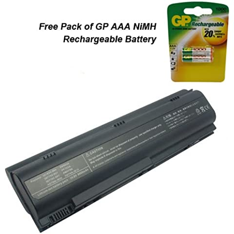 HP Pavilion DV6–1055EO Laptop Batteria–Premium Powerwarehouse batteria