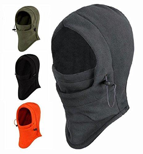 6 in 1 Thermal Fleece Balaclava Hood Swat Skimaske Bike Skullies & amp; Beanies Winter Wind Stopper Gesicht Kappen
