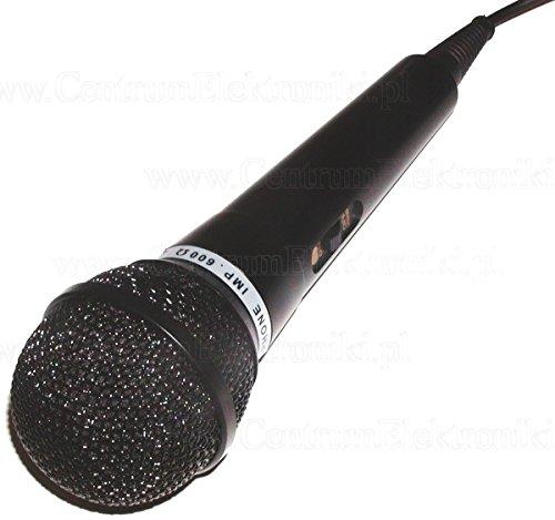 Micrófono dinámico DM-202 (para voz, conector jack 6,3mm mono) alám