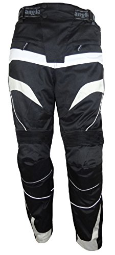 Bangla 1545 Motorradhose Tourenhose Bikerhose Herren schwarz weiss grau 5XL