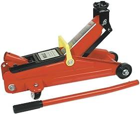 Brüder Mannesmann Werkzeug Mannesmann Hydr. Wagenheber 2 t, fahrbar, im Kunstoff-Koffer, M01800