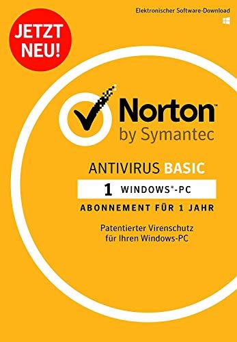 Norton Antivirus Basic 2019 | 1 Gerät | 1 Jahr | PC | Download