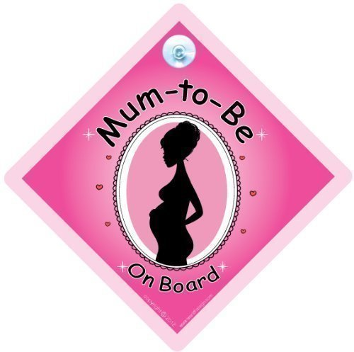 BABY iwantthatsign.com Panneau Mum to be pour voiture