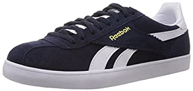 Reebok Classics Men's Royal Alperez Collegiate Navy,Emeraldhaze, Brass,Collegiate Royal and White Gore-Tex Training Shoes- 10.5 Uk