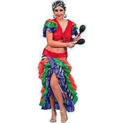 Fyasa 705880-t04brasiliano donna costume, grande