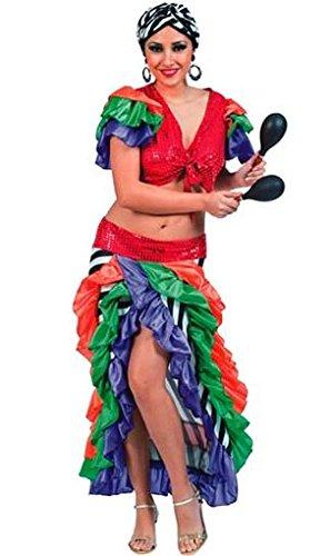Brasilien Samba Lady Damenkostüm (Kostüme Samba Brasilien Karneval)
