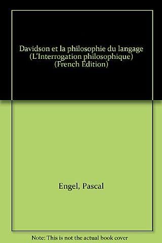 Davidson et la philosophie du langage