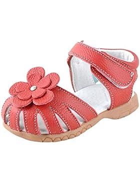 [Sponsorizzato]Balai Scarpe per Bambine e Ragazze Sandali Fiore Estate Anti Scivolo Scarpe Scarpe da Camminata