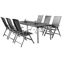 suchergebnis auf f r gartenm bel set aluminium 7 teilig. Black Bedroom Furniture Sets. Home Design Ideas