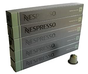 nespresso 50 capsules indriya from india espresso cuisine maison. Black Bedroom Furniture Sets. Home Design Ideas