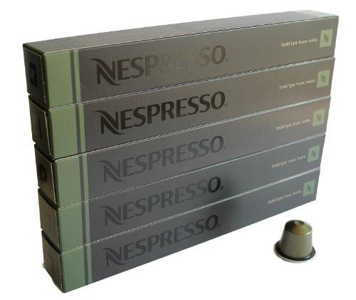 Preisvergleich Produktbild Nespresso Sortiment Indriya from India (Espresso), 50 Kapseln