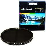 Polaroid PLFILFDND82 - Filtro ND (densidad neutra) HD de 82 mm de rango variable con multirrevestimiento (ND3, ND6, ND9, ND16, ND32, ND400)