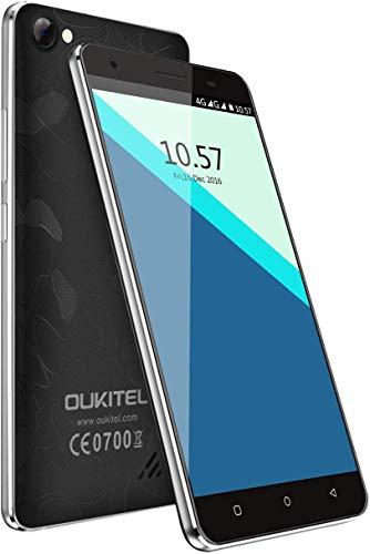 4G Smartphone Android 6.0 OS 5.0\'\' Zoll HD Touch-Display, MT6737 Quad-Core, 2GB RAM + 16GB ROM, Dual Kameras, Dual Sim Dual Standby mit 2000mAh Akku