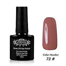 Perfect Summer UV Led Gel Nail Polish Color 10ml Soak Off Gel Manicure product Venetian Red