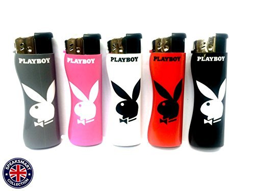 playboy-bunny-refillable-lighters-pack-of-5
