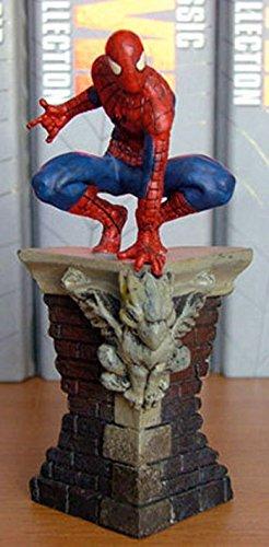 Figura de Plomo Marvel Figurine Collection Especial SPIDERMAN SOBRE CORNISA 1