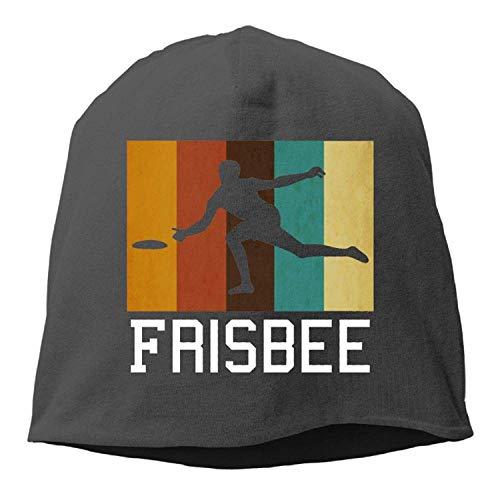 Preisvergleich Produktbild MLNHY Retro Ultimate Frisbee Winter Beanie Skull Cap Warm Knit Ski Slouchy Hat Durable