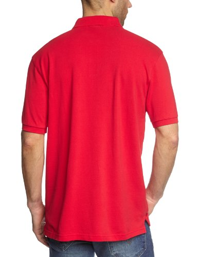 GANT Herren Poloshirt SOLID PIQUE SS RUGGER Rot (Bright Red)
