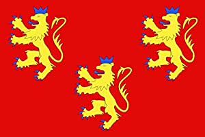 magFlags Drapeau Large Département de la Dordogne   drapeau paysage   1.35m²   90x150cm