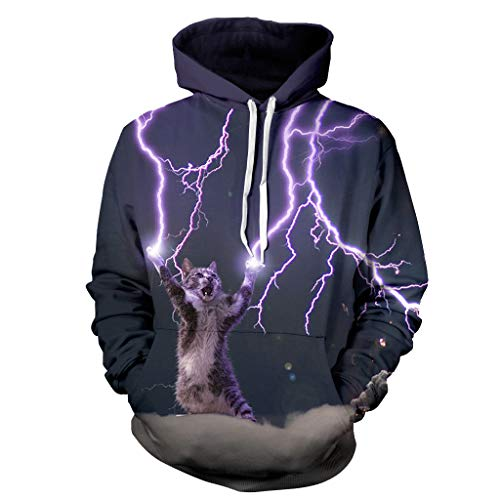Unlimited energy Unisex 3D Digitaldruck Lustige Kreative Hoodies Sweatshirts