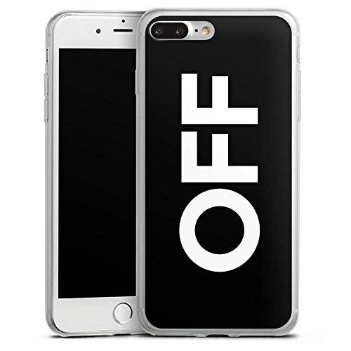 Apple iPhone X Slim Case Silikon Hülle Schutzhülle House Electro Techno Silikon Slim Case transparent