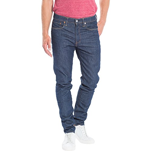 Levis Jeans Men 512 SLIM TAPER FIT 28833-0014 Broken Raw Darkblue