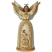 Hearwood Creek 4044105 Figurina Angelo di Natività, il Regalo Più Grande Resina Santa, Disegno da Jim Shore, 19.5 cm