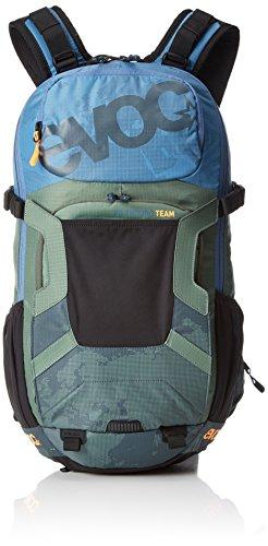 Evoc Rucksack FR ENDURO TEAM copen, blue/olive/slate, 50 x 27 x 14 cm, 14 Liter, 7016224271