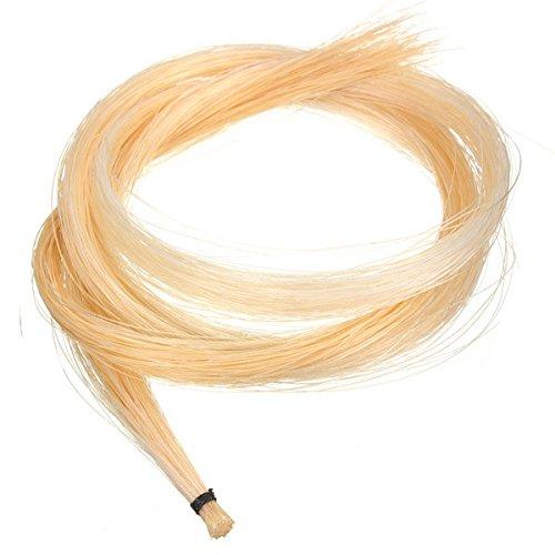 Paleo 1 Hank 32 Zoll mongolischen Geige / Bratsche Bogen Haar Rosshaar Weiß