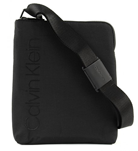 Calvin Klein Jeans Strapped Flat Crossover, Sacs...
