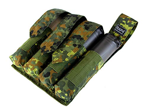 Vertical 4x MOLLE P90 Paintball Pod Pouch